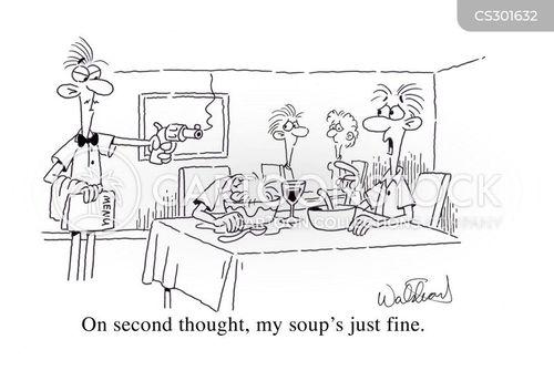 customer complaints cartoon