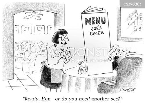 food choices cartoon