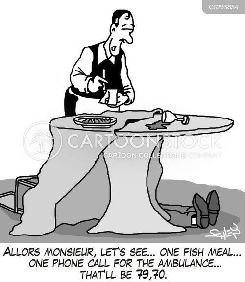fish meals cartoon