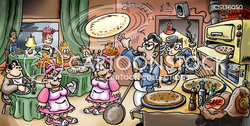Pizza Restaurants Cartoons and Comics - funny pictures ...