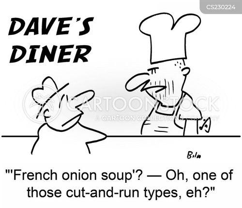 french onion soup cartoon