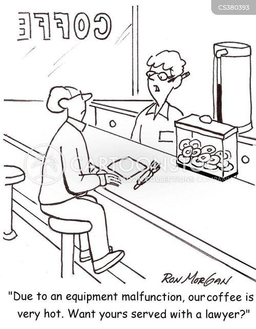 hot coffee cartoon