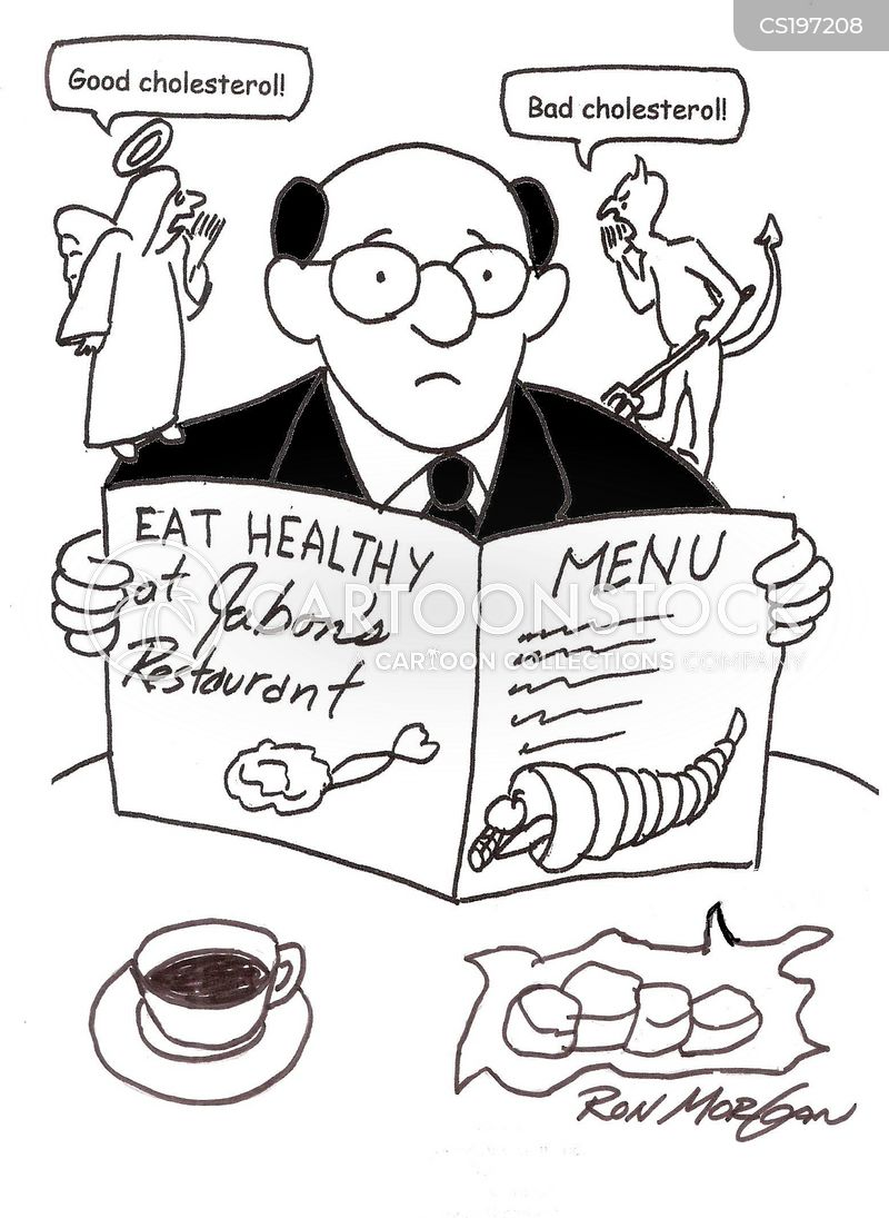 healthy choices cartoon