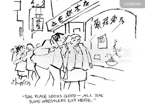 japanese cuisine cartoon