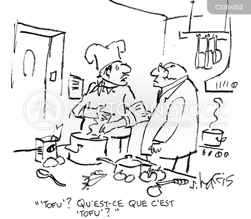 french chef cartoon