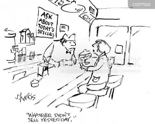 eating leftovers cartoon