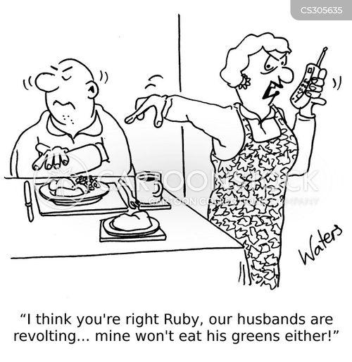 eating disorder cartoon