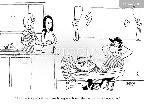 gluttons cartoon