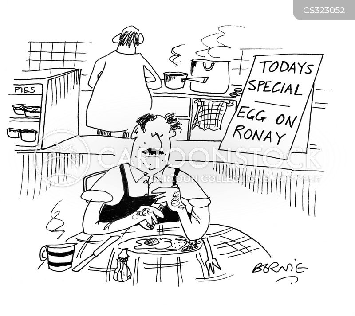 egon ronay cartoon
