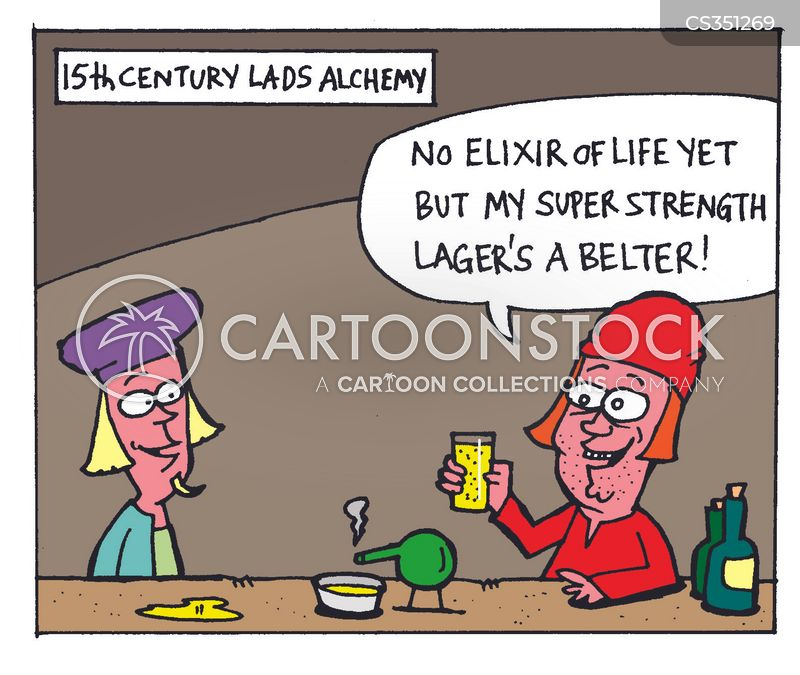 elixir cartoon