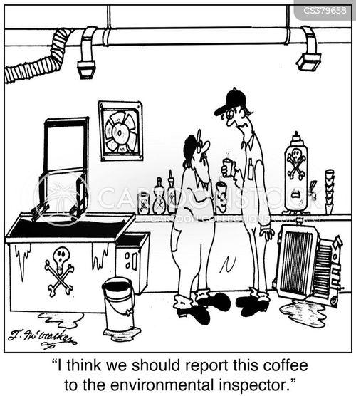 environmental inspector cartoon