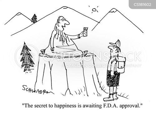 food and drug administration cartoon