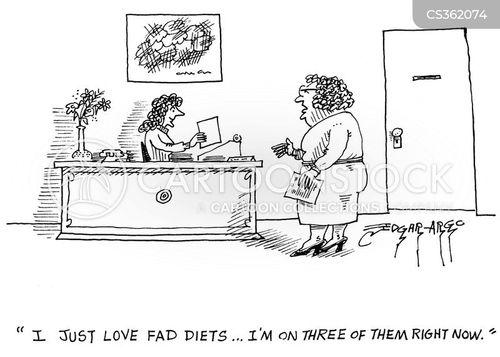 faddy diets cartoon