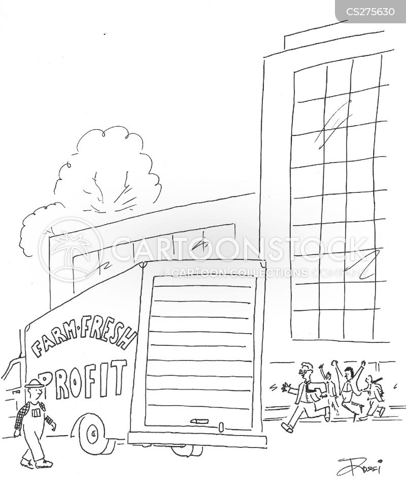 hand outs cartoon