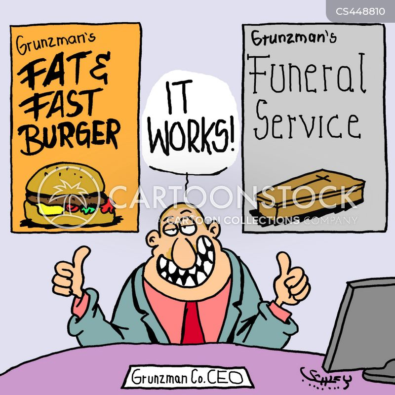 Unhealthy Eater Cartoons and Comics - funny pictures from ...