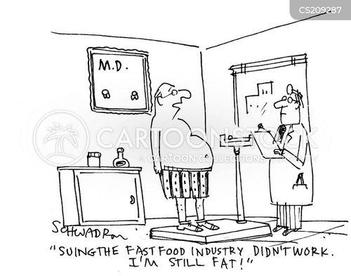 western obesity cartoon