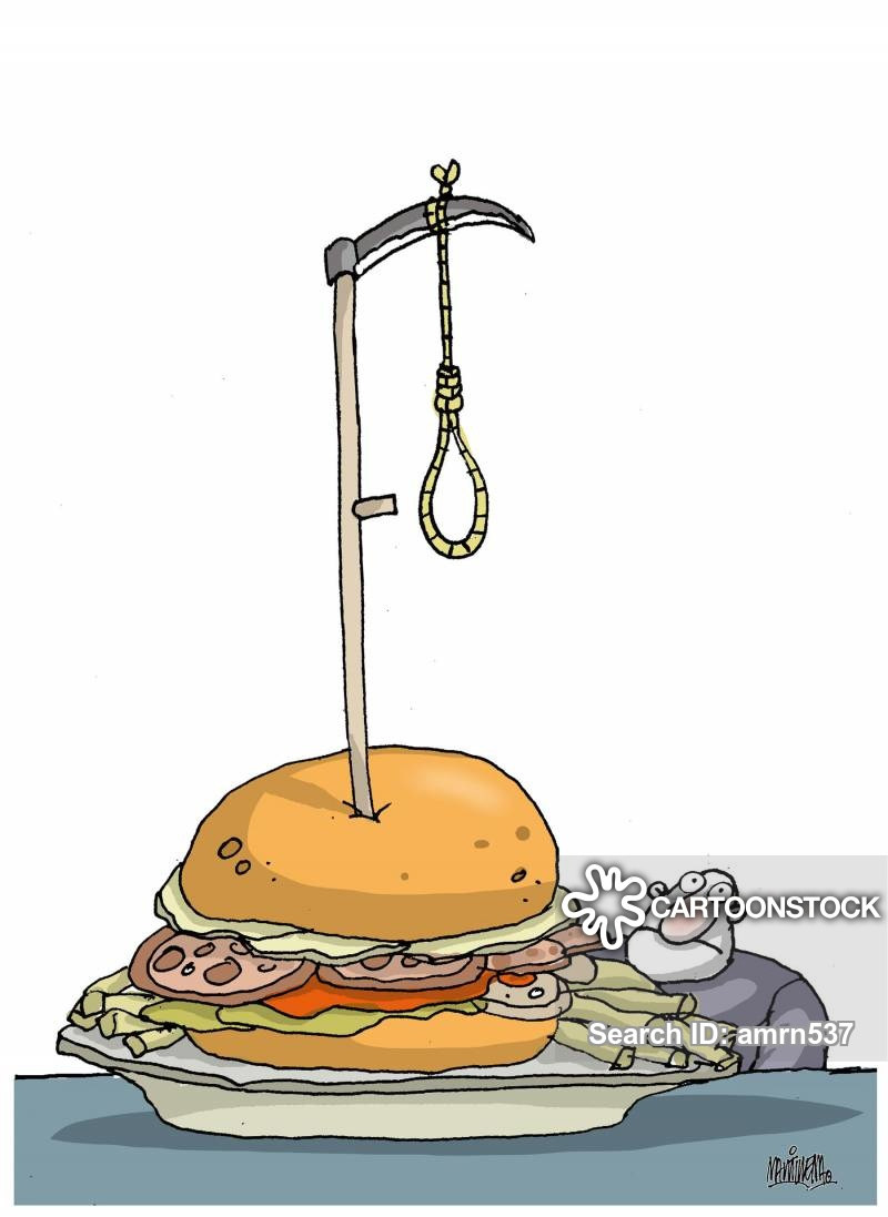 fast-foods cartoon