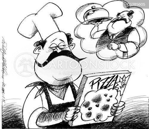 slow food cartoon