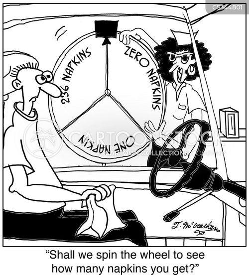 roulette wheel cartoon
