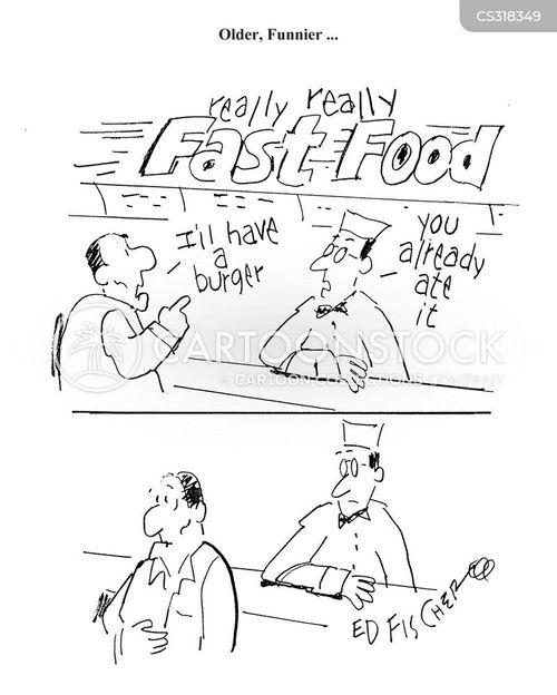 ham burgers cartoon
