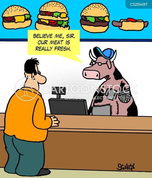fresh meat cartoon