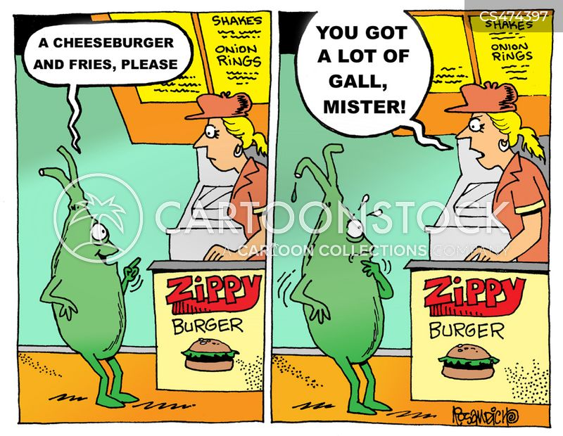 gall bladder cartoon