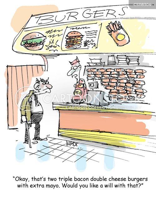 calories cartoon