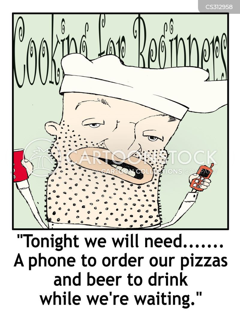 cooking classes cartoon