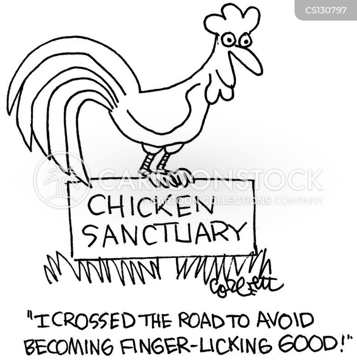 sanctuary cartoon