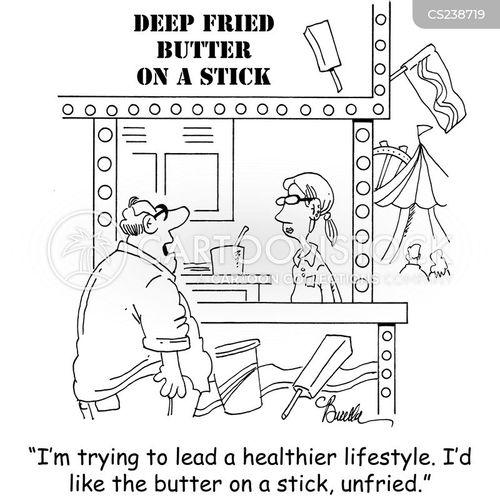 unhealthiness cartoon