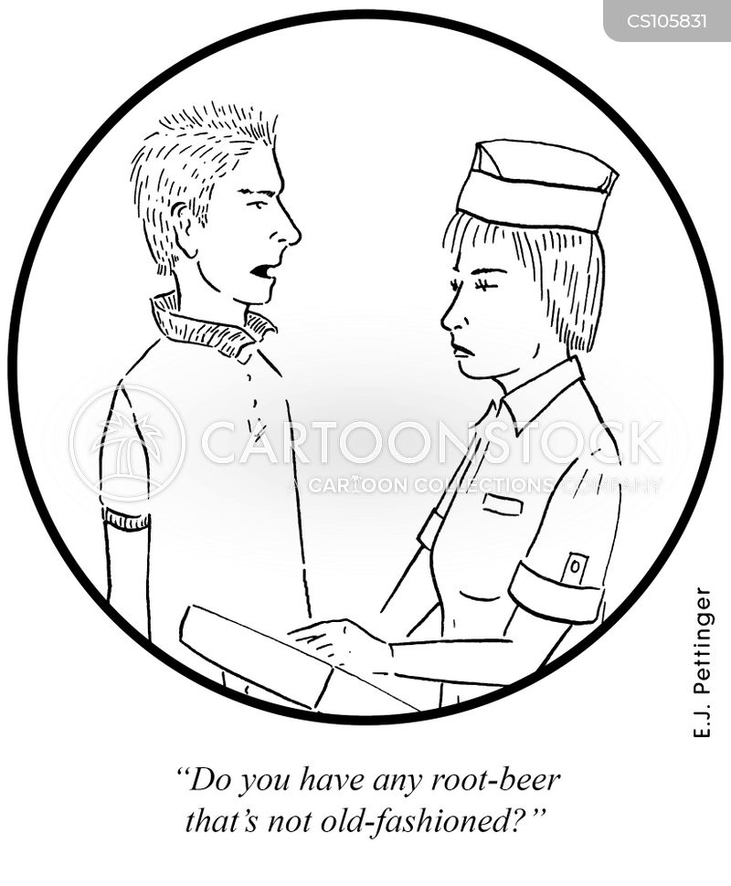 root beer cartoons and comics