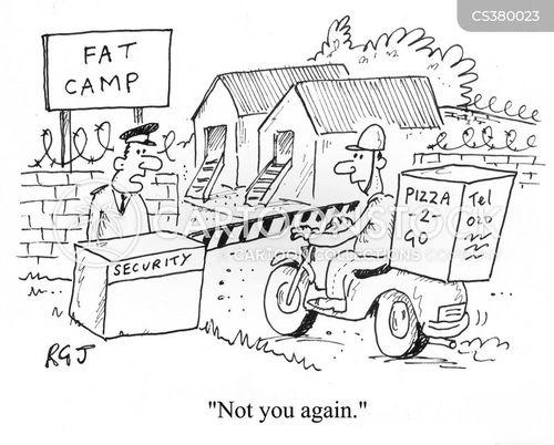 fat camp cartoon