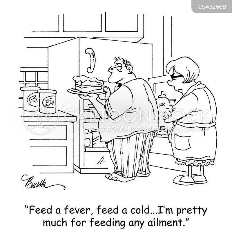 feed a cold cartoon