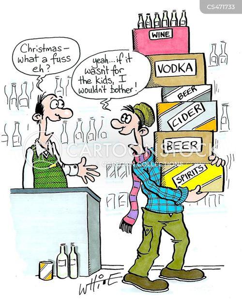 off licences cartoon