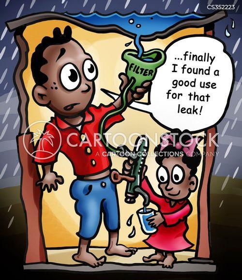 disinfection cartoon