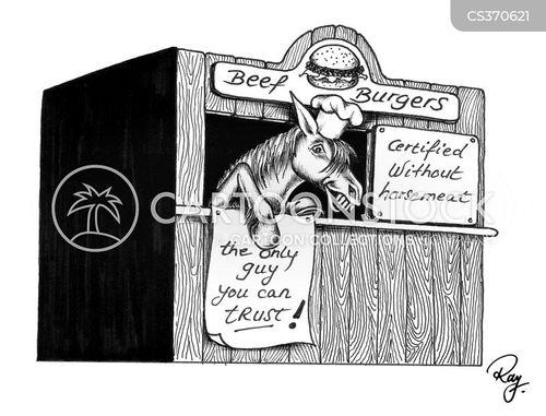 horsemeat cartoon