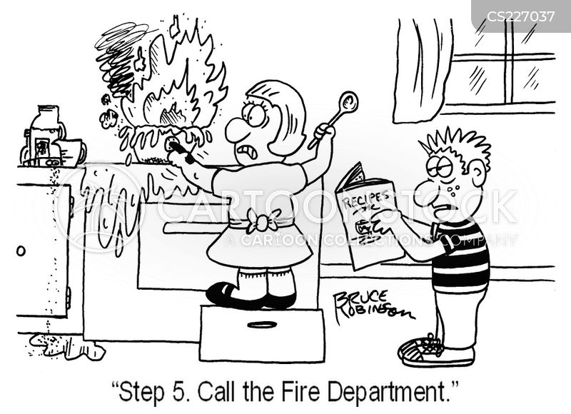 stoves cartoon