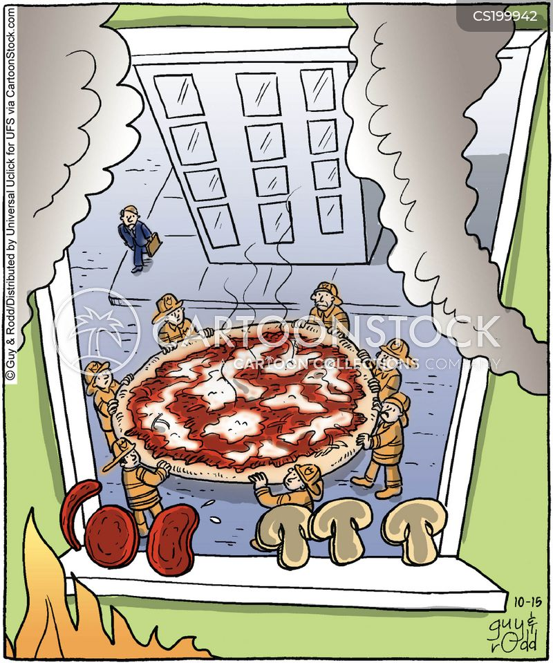 pepperoni cartoon