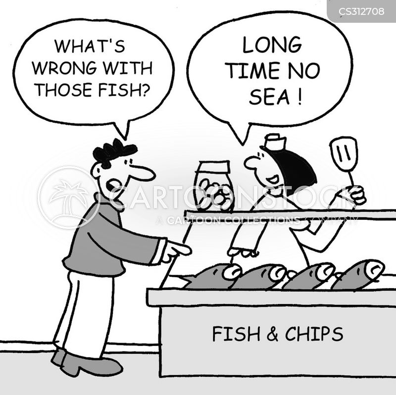 fish suppers cartoon