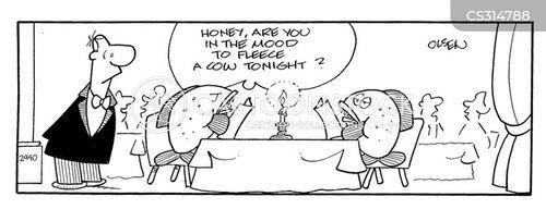 fleeced cartoon