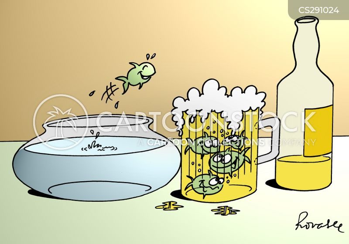 bitters cartoon
