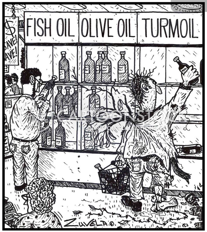 Cooking oil cartoons and comics funny pictures from for Fish oil adhd