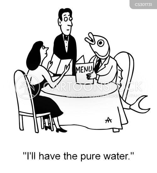 freshwater fish cartoon