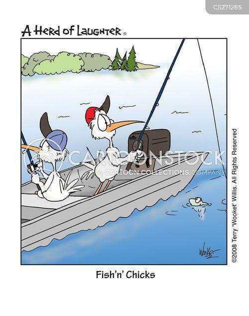 fish n chips cartoon