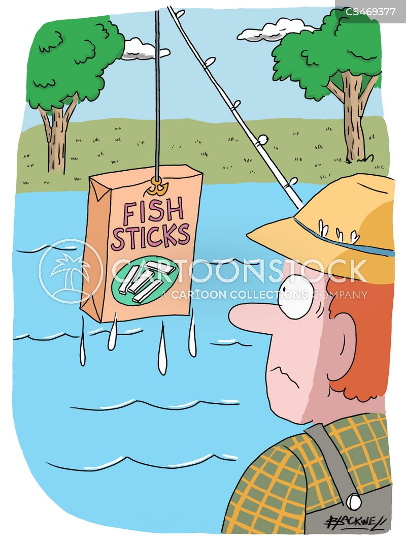 fish sticks cartoon