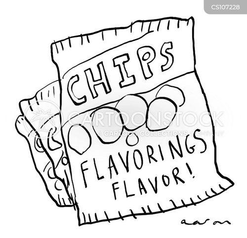 crisp cartoon