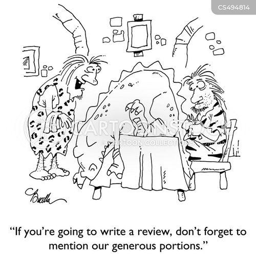 good review cartoon