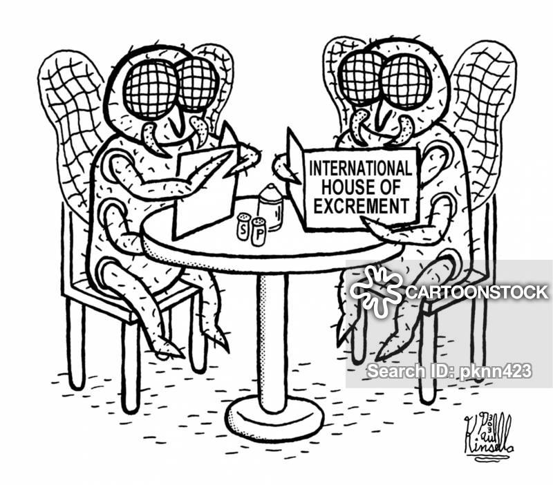 excrement cartoon