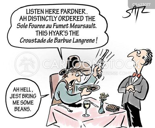 french restaurants cartoon