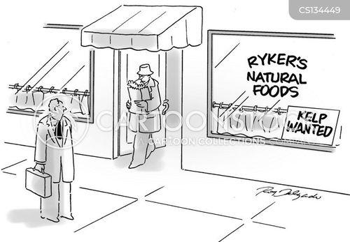 greengrocer cartoon
